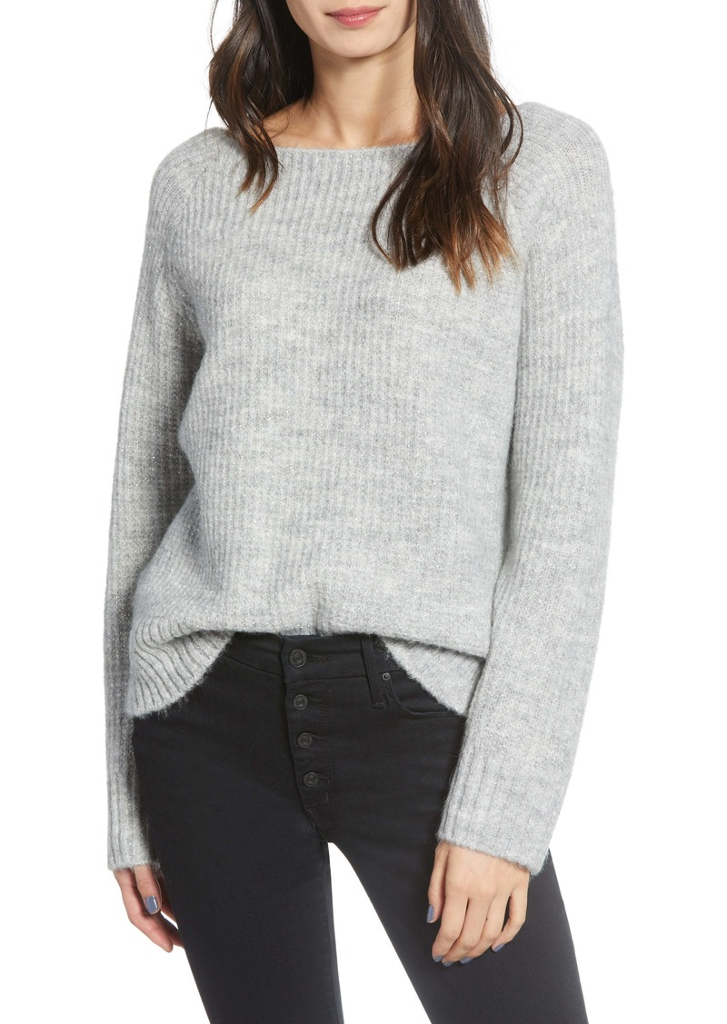 Chelsea28 Rib Metallic Sweater