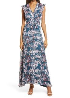 Chelsea28 Ruffle Tie Waist Dress