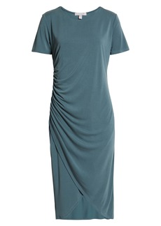 Chelsea28 Side Ruched Jersey Dress