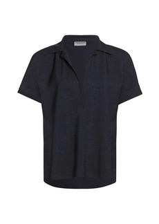 Chiara Boni La Petite Robe Bili Short-Sleeve Polo