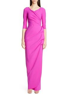 Chiara Boni La Petite Robe Florien Ruched Column Gown
