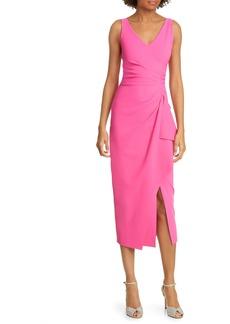 Chiara Boni La Petite Robe Kloty Ruched Midi Dress