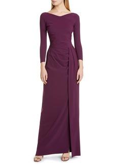 Chiara Boni La Petite Robe Litonya Uni Bracelet Sleeve Gown