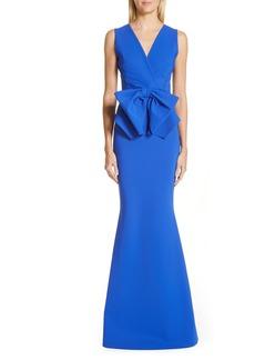 Chiara Boni la Petite Robe Oshun Bodice Bow Evening Dress