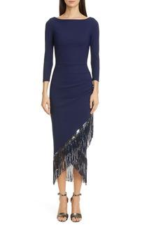 Chiara Boni La Petite Robe Pacoshy Sequin Fringe Dress