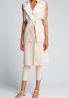 Chiara Boni La Petite Robe Vienna Long Trench Vest