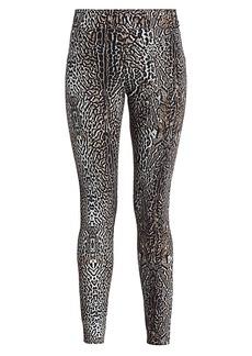 Chiara Boni La Petite Robe Columbe Leopard Leggings