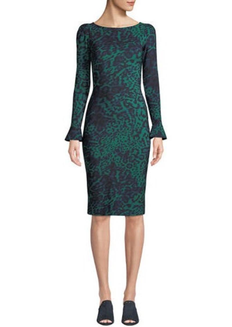 110e96785a93c Chiara Boni La Petite Robe Darsey Geometric-Print Cocktail Dress ...