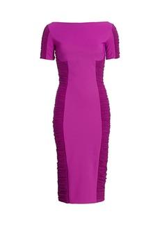 Chiara Boni La Petite Robe Dary Illusion Sheath Dress