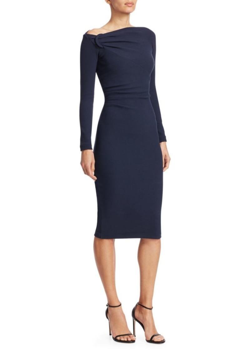 bc91781f Chiara Boni La Petite Robe Delbar Crepe Ruched Bodycon Dress | Dresses