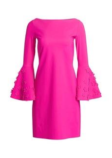 Chiara Boni La Petite Robe Elaine Floral Appliqué Shift Dress