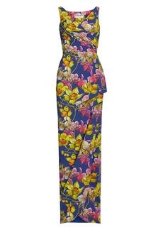 Chiara Boni La Petite Robe Florien Printed Gown