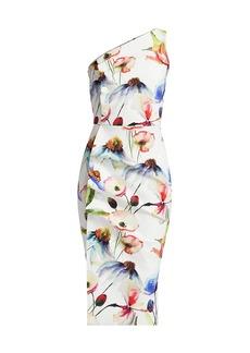 Chiara Boni La Petite Robe Hiroko One-Shoulder Dress