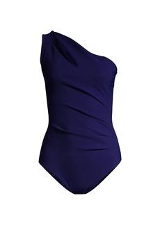 Chiara Boni La Petite Robe Janne Cutout One-Piece Swimsuit