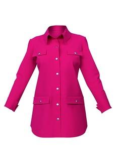 Chiara Boni La Petite Robe Jersey Shirt Jacket
