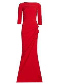 Chiara Boni La Petite Robe Kate Off-The-Shoulder Gown