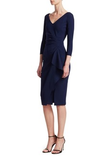 Chiara Boni La Petite Robe Kloty Side Ruffle Dress