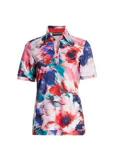 Chiara Boni La Petite Robe Sacha Printed Polo T-Shirt
