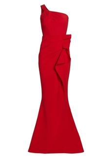Chiara Boni La Petite Robe Seki One-Shoulder Gown