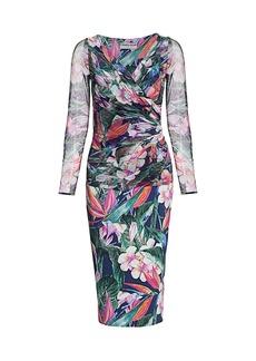 Chiara Boni La Petite Robe Shana Illusion Wrap Dress