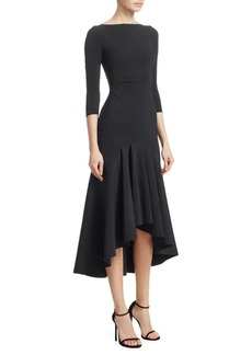 Chiara Boni La Petite Robe Wilma High-Low Midi Dress