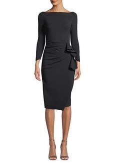 Chiara Boni La Petite Robe Zelma Ruched Body-Con Dress