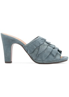 Chie Mihara Abejaante mules - Blue