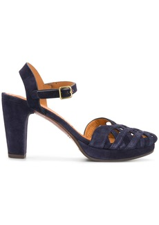 Chie Mihara caged heel sandals - Blue