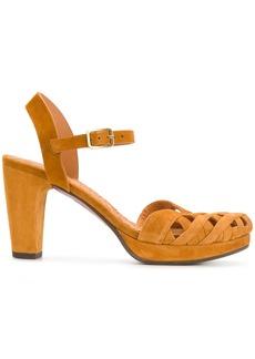 Chie Mihara cross hatch sandals - Brown