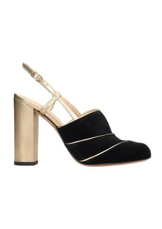 Chie Mihara Do-darlin Sandals In Black Velvet