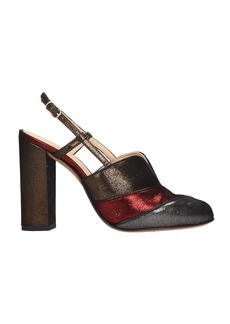 Chie Mihara Do-darlin Sandals In Silver Leather