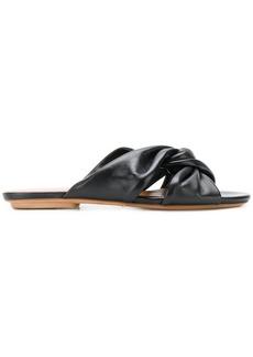 Chie Mihara knot detail sandals - Black