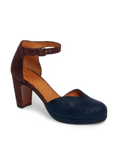 Chie Mihara Maho d'Orsay Ankle Strap Pump (Women)