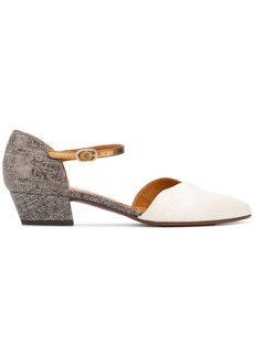 Chie Mihara low heel pumps