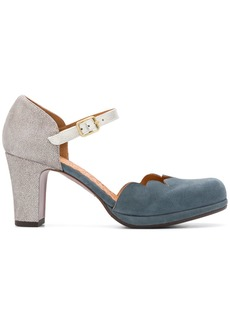 Chie Mihara scalloped pumps - Blue