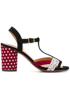 Chie Mihara T-bar heeled sandals