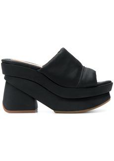 Chie Mihara Vroska platform heeled sandals - Black