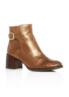 Chie Mihara Women's Or-Omayo Block-Heel Booties