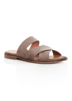 Chie Mihara Women's Wanda Suede Crisscross Slide Sandals - 100% Exclusive