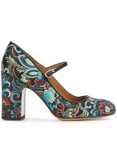 Chie Mihara floral print pumps