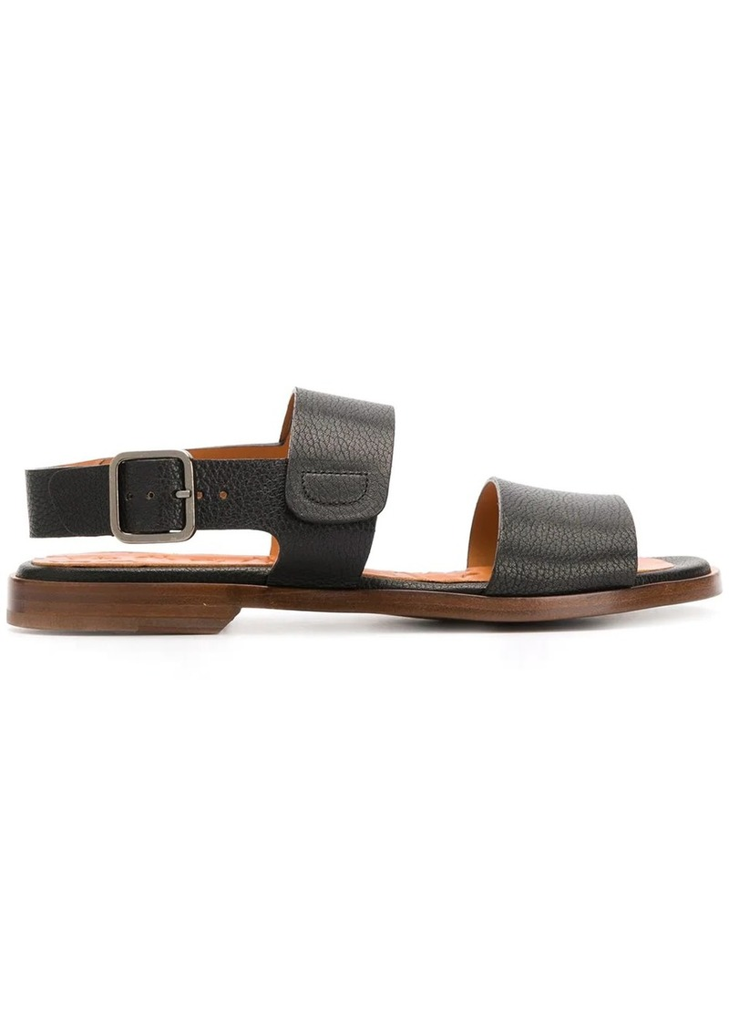 Chie Mihara grained effect strappy sandals