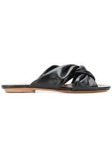 Chie Mihara knot detail sandals