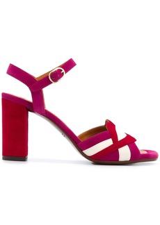 Chie Mihara Lipstick strappy sandals