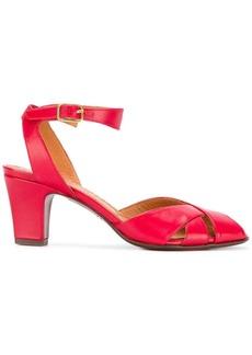Chie Mihara mid heel open toe sandals