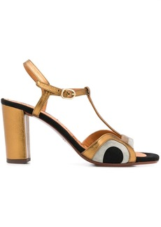 Chie Mihara panelled sandals