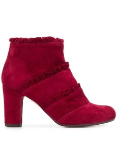 Chie Mihara ruffle detail ankle boots