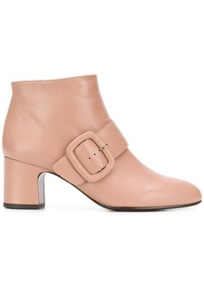 Chie Mihara side buckle boots