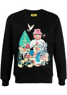 Chinatown Market Friends cotton sweatshirt