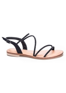 Chinese Laundry Carley Jeweled Flat Sandals Women's Shoes