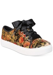 Chinese Laundry Janeane Velvet Lace-Up Sneakers Women's Shoes